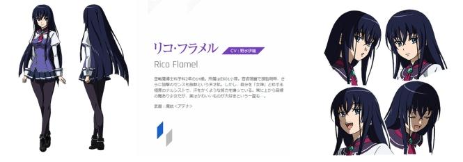 Rico Flamel, Voice Actor: Nomizu Iori