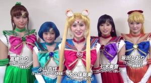 The Inner Senshi of the previous and upcoming musicals, taken from the Video digest streamed for 'Pretty Guardian Sailor Moon: Petite Etrangere (Source:Can Hoang Tran on the-newshub.com)