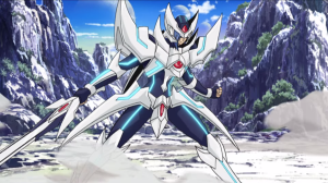 Blaster Blade on the field (Source: Vanguard anime)