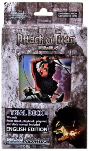 The Attack on Titan English Trial Deck