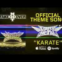 "BABYMETAL's ""Karate"" becomes the official theme song for ""WWE NXT Takeover: The End"""
